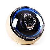 Klarstein St. Gallen-Deux Classic Edition - Uhrenbeweger, Uhrendreher, Uhrenkasten, Uhrenbox, Kapazität: 1 x Automatikuhr, 4 vorprogrammierte Bewegungs-Modi, Laufruhig, Creme