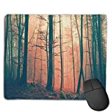 Gaming Mouse Mat, Spruce-fir Dark Mouse Mat Personalisierte Anpassung Gaming und Office Mouse Mat Genähte Kante Office Thicker Mouse Pad