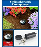 Schlüsselversteck Rasensprenger