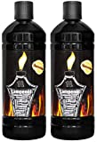 Flameup Lampenoel Lampenöl Petroleum Lampe Garten Oel Fackeln Fackel Laterne Öl Innen Camping 1-24 Liter Flasche Outdoor Oil Öllampe flüssig Gartenfackeln, Menge:2 L