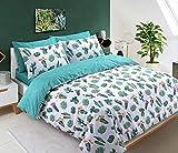 Sleep Down Bettwäsche-Set für Einzelbett, Baumwolle, Weiß