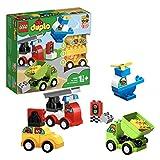 LEGO 10886 DUPLO Meine ersten Fahrzeuge mit 4 baubaren Fahrzeugen