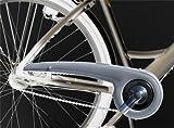 DEKAFORM Kettenschutz 180-2 für Böttcher Focus Giant Hercules Kalkhoff Pegasus Victoria Fahrrad 36/38 Zähne * silber