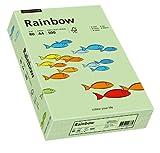 Papyrus 88042629 Drucker-/Kopierpapier farbig, Bastelpapier: Rainbow 80 g/m ², A4, 500 Blatt Buntpapier, matt, mittelgrün