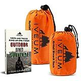 Set aus Biwaksack und Notfallzelt INKL. EBOOK – Notfall Schlafsack für Outdoor – ultraleichtes bivy Bag – Outdoor Equipment bivack Sack