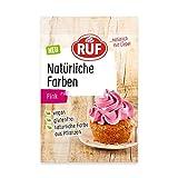 RUF Natürliche Lebensmittelfarbe pink mit Rote Bete Saft Konzentrat, 8 g