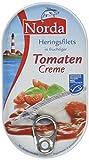 Norda Heringsfilets in Tomaten-Creme, 13er Pack Konserven, Fisch in Tomatencreme