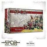 Warlord Games WAR-152014001 - Kriegsherr Spiele - SPQR - Gallier Krieger