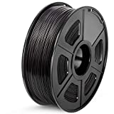 SUNLU ABS Filament 1.75mm, 3D Drucker Filament ABS 1kg Spool, Toleranz +/- 0,03mm ABS Filament Schwarz