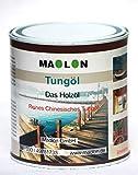 Tungöl 1 Liter | 100% reines Naturöl | Holzöl für Innen und Außen