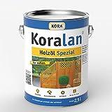 Koralan Holzöl Spezial Öl UV-Schutz Außenöl Bangkirai 2,5L