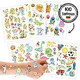 Papierdrachen Tattoo Set 1 Kindergeburtstag Jungen