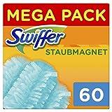 Swiffer Staubmagnet Tücher, Mega Nachfüllpack, 1er Pack (1 x 20 Stück)