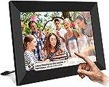 AILRINNI Digitaler Bilderrahmen WiFi 8 Zoll – Smart Cloud Bilderrahmen IPS 1280 x 800 Touchscreen mit 16 GB Speicher, Teilen Sie Fotos über App/Rotation automatisch