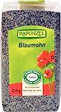 Rapunzel Mohn blau, Projekt, 1er Pack (1 x 250 g) - Bio