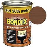 Bondex Holzlasur für Außen Nussbaum 4,80 l - 329658