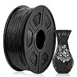 ABS Filament 1,75 mm, ABS 3D Drucker filament, ABS Filament 1KG (2,2 lb) Spool, ABS Schwarz
