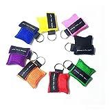 Cpr Maske Schlüsselanhänger-8 Stücke CPR Face Shield Erste Hilfe -Cpr Life Key by IDEAPARK