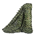 Sitong Tarnnetz, für die Jagd, Rolle, Bulk, Militär, Dekoration, Sonnenschutz, Woodland, 1.5Mx3M(4.9ftx9.8ft)