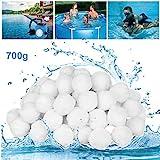 GothicBride Filter Balls 700g ersetzen 25 kg Filtersand, Filterbälle für Pool, Schwimmbad, Filterpumpe, Aquarium Sandfilter.
