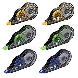 Siumir Korrekturband Set 12 Stück Korrekturroller Korrekturmaus Schul- und Bürobedarf