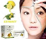 Hautcreme Whitening-Creme zum entfernen von Sommersprossen/braunen Flecken –mit Zitronen- & Löwenzahn-Extrakt 50ml