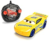 Dickie Toys 203084004 - 'Cars 3 Turbo Racer Cruz Ramirez', RC Fahrzeug, ferngesteuertes Auto, 1:24, 17cm