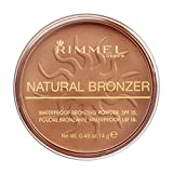 Rimmel Natural Bronzer Bräunungspulver, 021 Sun Light,14 g