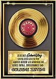 bentino Geburtstagskarte XL mit Musik, DIN A4 Set mit Umschlag, hochwertige Grußkarte spielt'Simply the BEST', Sound in toller HiFi Qualität, Glückwunschkarte aus der Serie'Great Cards'