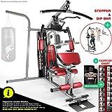Sportstech Premium 50in1 Kraftstation für EIN Allround Training   Multifunktions-Heimtrainer mit Stepper & LAT-Zugturm   HGX Fitness-Station aus Eva Material   Robust für Zuhause (HGX250)