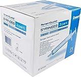 Einmalspritzen Einwegspritzen Spritzen von Romed Medical Auswahl Menge U. Größe(Spritze 5 ml,Menge: 100 Stück)