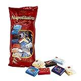 Frey 1kg Napolitains Selection Schokolade Mischbeutel - Mini Schokoladentafeln aus 7 Sorten - Schweizer Mini Schokoladen Tafeln - Großpackung 1x 1000 g - UTZ-zertifiziert