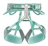PETZL Unisex– Erwachsene Harness SMALL Damen Klettergurt Selena Blau/Grau S, Mehrfarbig, S