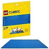 LEGO Classic 10714 Blaue Bauplatte, Lernspielzeug, Kreatives Spielen
