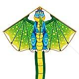 Toynspring Drachen Flying Dragon Drachen für Kinder Jungen Mädchen Erwachsene Anfänger Die Beach Park Outdoor-Spiele Einfach zu fliegen