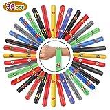 Ucradle Superhero Schnapparmband Kinder Jungen - 36 Stück Snap Armbänder Schnapparmbänder Mitgebsel, Perfektes Superhelden Slap Bands Klatscharmband Kindergeburtstag Spielzeug für Mädchen