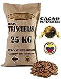 Kakaobohnen, ungeröstet - Venezuela Kakao Herkunft Trincheras | Cacao Venezuela Delta - Edelkakao 100% aus Venezuela - Premium-Qualität | Jutesäcken 25kg