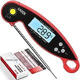 Habor Fleischthermometer CP192BR, LCD Küchenthermometer Digital, IPX6-wasserdicht , 12cm Sonde, Instant Read Bratenthermometer Grillthermometer für BBQ, Backen, Milch, Steak,Baby-Ernährung,Öl