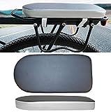 ASTARC Fahrradrücksitz,Bike Rücksitz,Kinder Fahrrad hinten Sitz Kissen,,dickere weiches Polster,für MTB,elektrisches Fahrzeug,Befestigung am Gepäckträger(Erwachsene und Kinder)