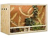 Terrarium, Terrariumbausatz, OSB Terrarium, Holzterrarium 150 x 60 x 80 cm Seitenbelüftung