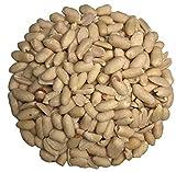 Fru'Cha! - BIO Erdnüsse / Erdnusskerne blanchiert, ungesalzen, roh - 1 kg, plastikfrei verpackt-100% kompostierbar