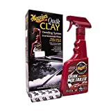 Meguiar's ME G1116 G1116EU Quik Clay Starter Kit Reinigungsknete