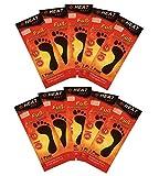 HEAT FEET 10 Paar Fußsohlenwärmer Wärmesohlen Schuhwärmer Sohle Fußwärme Schuhheizung Fußheizung 8 Stunden Wärmedauer