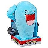 Pokemon 96372 Wobbuffet Plüsch-Spielzeug, Mehrfarbig, 30,5 cm