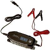 Hama Autobatterie-Ladegerät mit LCD Ladestatus-Anzeige (Vollautomatisches KFZ-Ladegerät für Motorrad/Boot/Auto, Batterie-Ladegerät für 6/12-Volt-Batterie bei Tiefentladung oder zur Erhaltungsladung)