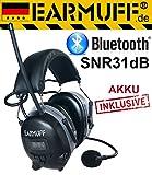 EARMUFF DS-Alert dynamischer 31dB Gehörschutz mit BLUETOOTH und Umgebungswahrnehmung