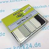 Cleho Hartwachs C13   Farbe: weiß, grau, schwarz