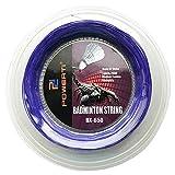 Explopur Badmintonschlägersaite - 600FT 0.72mm Federball-Trainingsschlägersaite Elastische Ersatz-Federball-Saite