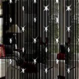 Unbekannt Kristall Quaste Vorhang Trennwand Tür Vorhang Kristall Perlen Glitzer Faden Vorhang Deko Quaste Screen für Wohnzimmer Schlafzimmer