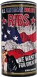 All American BBQ Ribs 350g - Perfekte Ribs aus dem Smoker - Authentisch Amerikanische Barbecue Trockenmarinade Für Unverwechselbaren Grillgenuss